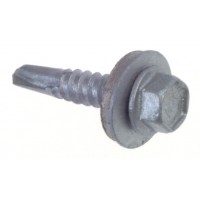 Buildex Self-Drilling Screws with Bonded Washer